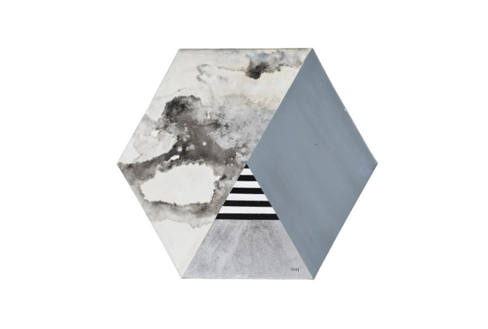 Picture-Hexagon Collage 40X35