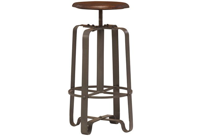 Industrial Adjustable Stool - 360