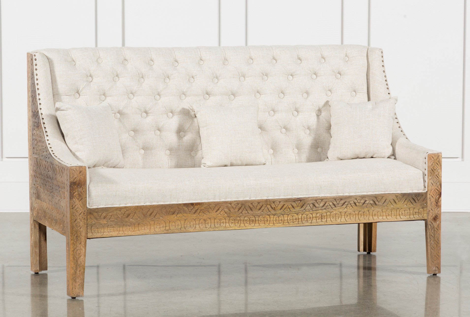 Hand Carved Sofa Qty 1 Has Been Successfully Added To Your Cart