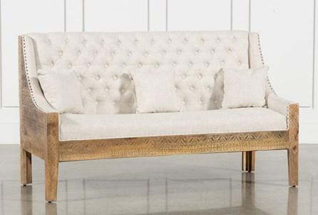 Hand Carved Sofa
