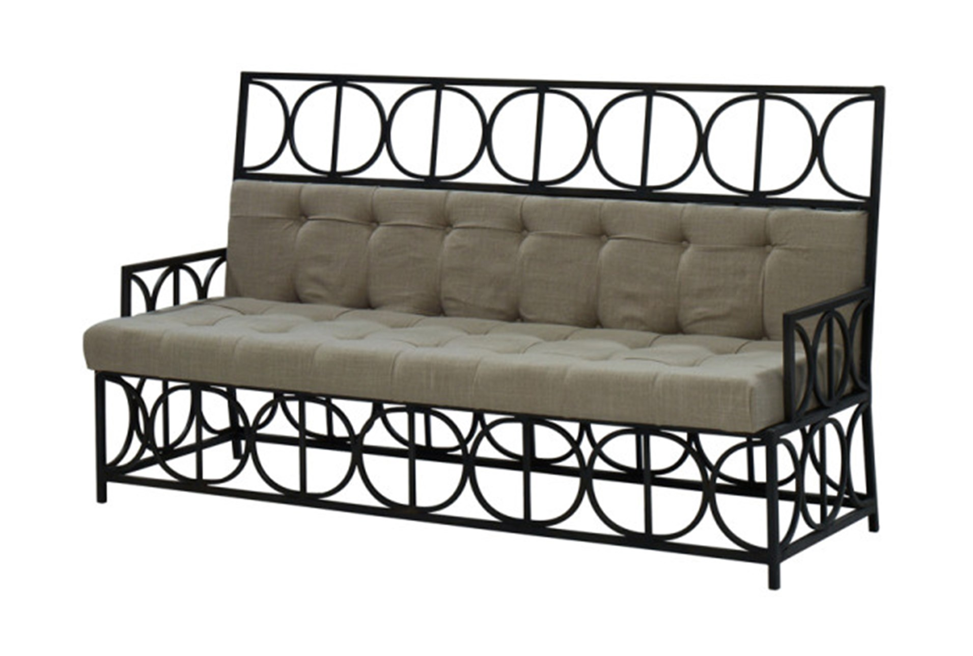 Metal Frame Sofa Living Spaces