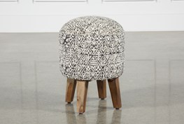 Assorted Patterns Retro Stool
