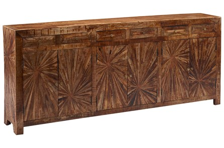 6-Door-6-Drawer Sideboard