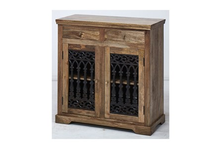 2-Door/2-Drawer Cast Jali Sideboard