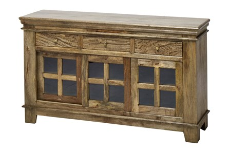 12-Glass/3-Drawer Sideboard