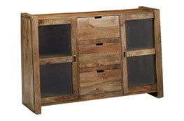 2-Door/3-Drawer Sliding Door Sideboard