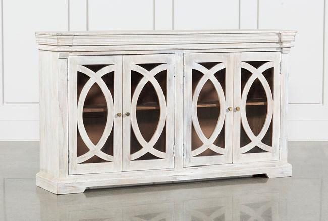 White Wash 4-Door Sideboard - 360