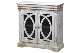 White Wash 2-Door Sideboard