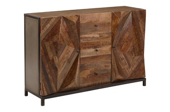 Otb Metal Stand 2-Door/3-Drawer Sideboard