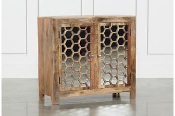 2-Door Mirror Front Cabinet