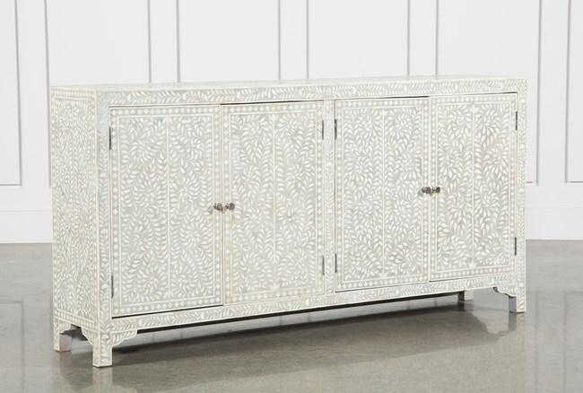 4-Door Bone Inlay Sideboard - 360