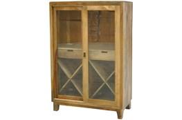 2-Door Sliding Wine Cabinet