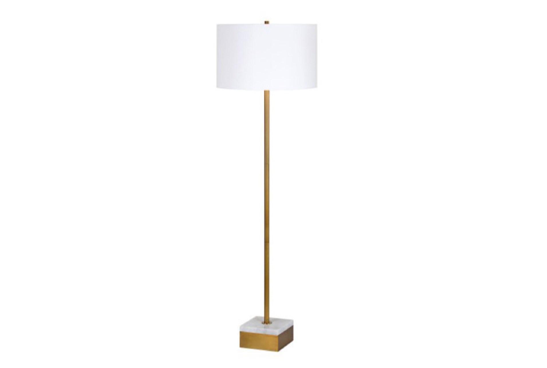 living spaces floor lamps floor lampcroix gold marble 360 living spaces