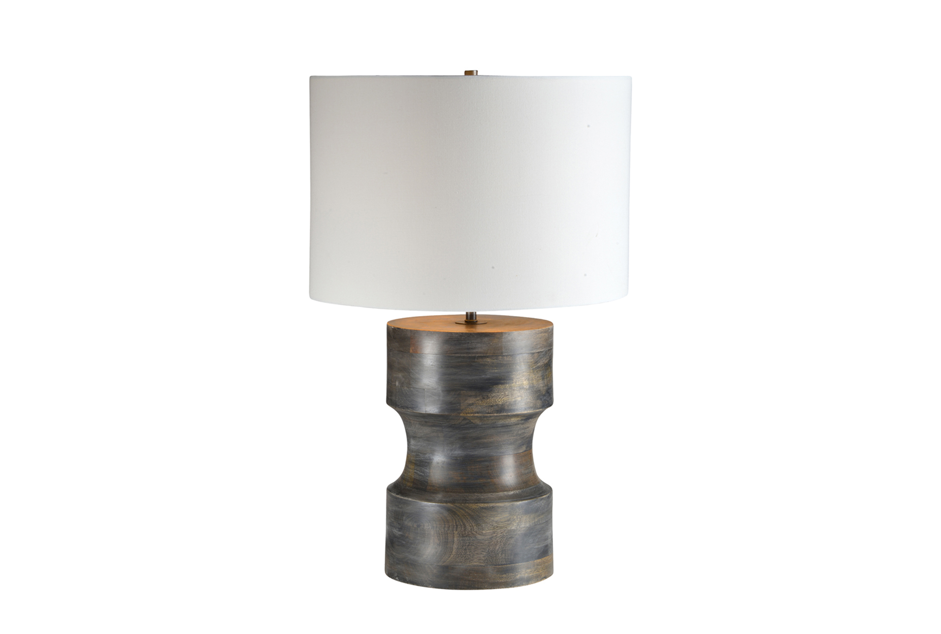 Table Lamp Grey Mango Wood (Qty: 1) Has Been Successfully Added To Your  Cart.