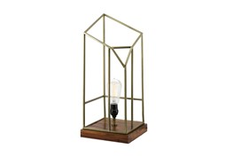 Table Lamp-Caged Edison