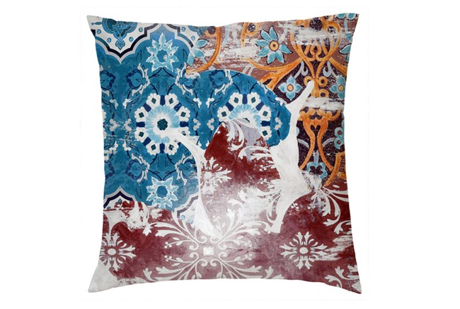 Accent Pillow-Talavera Tile 20X20 - 360