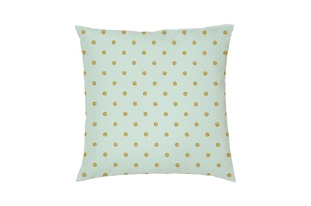 Accent Pillow-Youth Wonderland Gold Dots 16X16 - Main