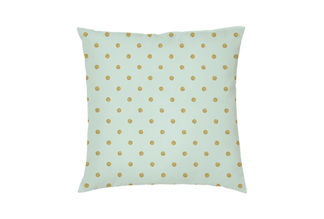 Accent Pillow-Youth Wonderland Gold Dots 16X16 - 360