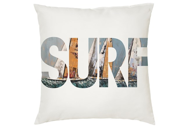 Accent Pillow-Youth Surf Typography 16X16 - 360