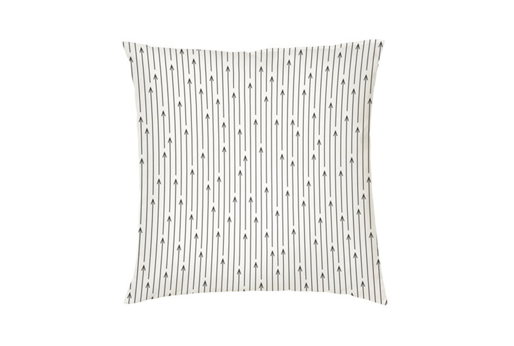 Accent Pillow-Youth B&W Arrows 16X16