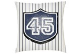 Accent Pillow-Youth Sports Jersey 16X16 - Signature