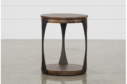 Blanton Round End Table