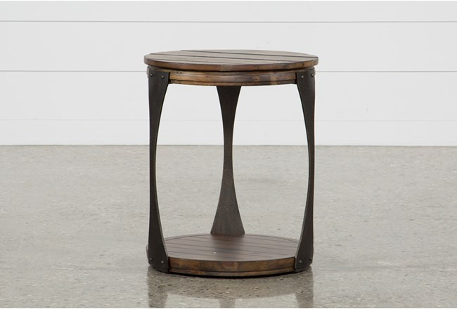 Blanton Round End Table - 360