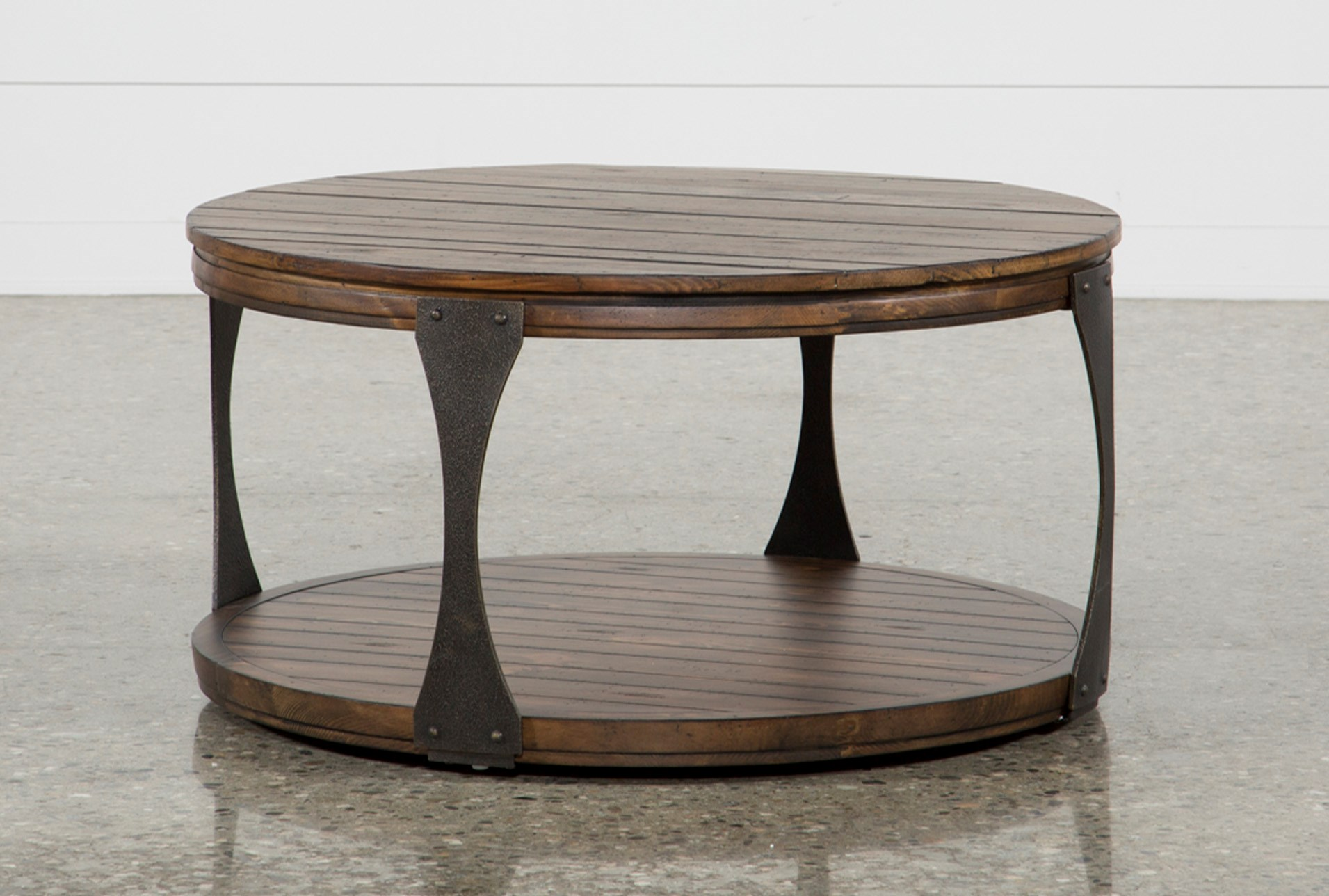 Blanton Round Coffee Table Living Es