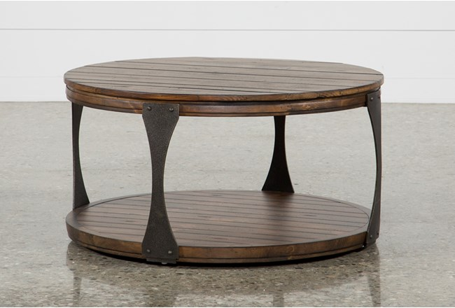 Blanton Round Coffee Table - 360