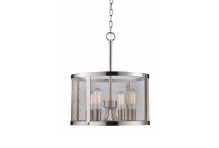 Pendant-Drexel Nickel 4-Light