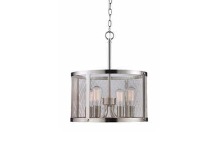 Pendant-Drexel Nickel 4-Light - Main