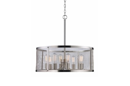 Pendant-Drexel Nickel 8-Light - Main