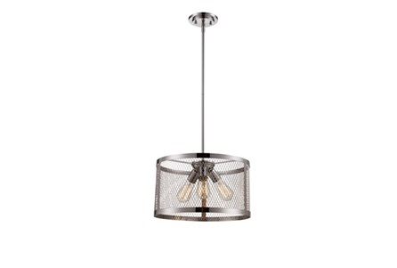 Pendant-Modern Farmhouse Chrome 3-Light