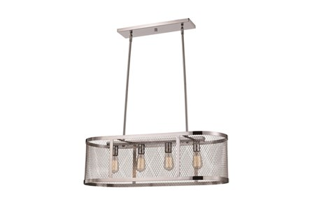 Pendant-Modern Farmhouse Chrome Island - Main