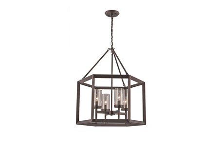 Pendant-Jax Bronze 4-Light