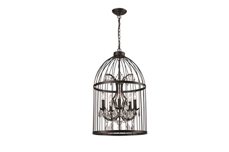 Chandelier-Caged Crystal - Main