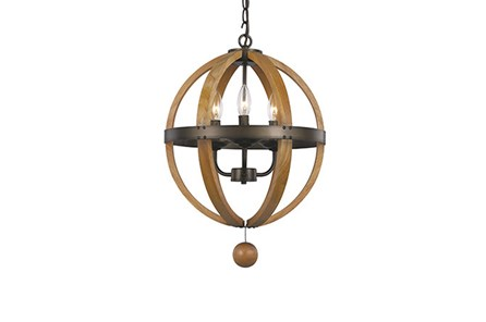 Pendant-Vineyard 3-Light Globe - Main