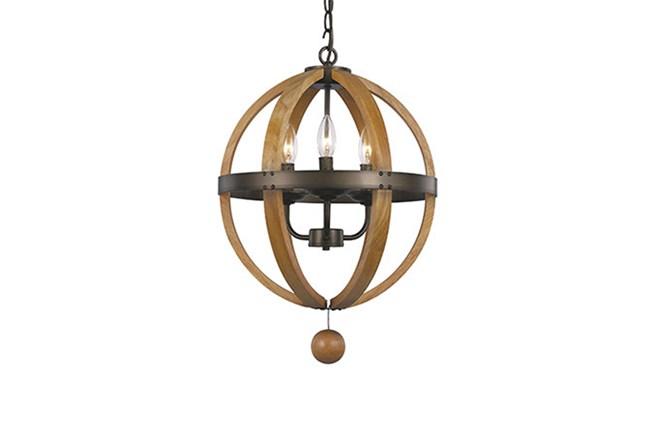 Pendant-Vineyard 3-Light Globe - 360