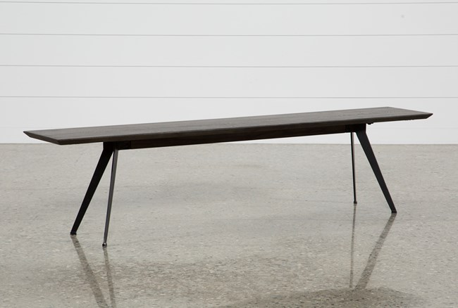 Weaver Dark Bench - 360