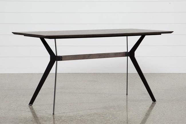 Weaver Dark Counter Table - 360
