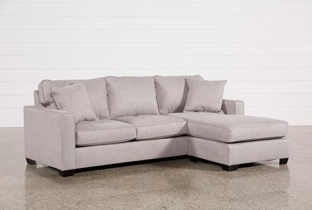 Egan II Cement Sofa W/Reversible Chaise