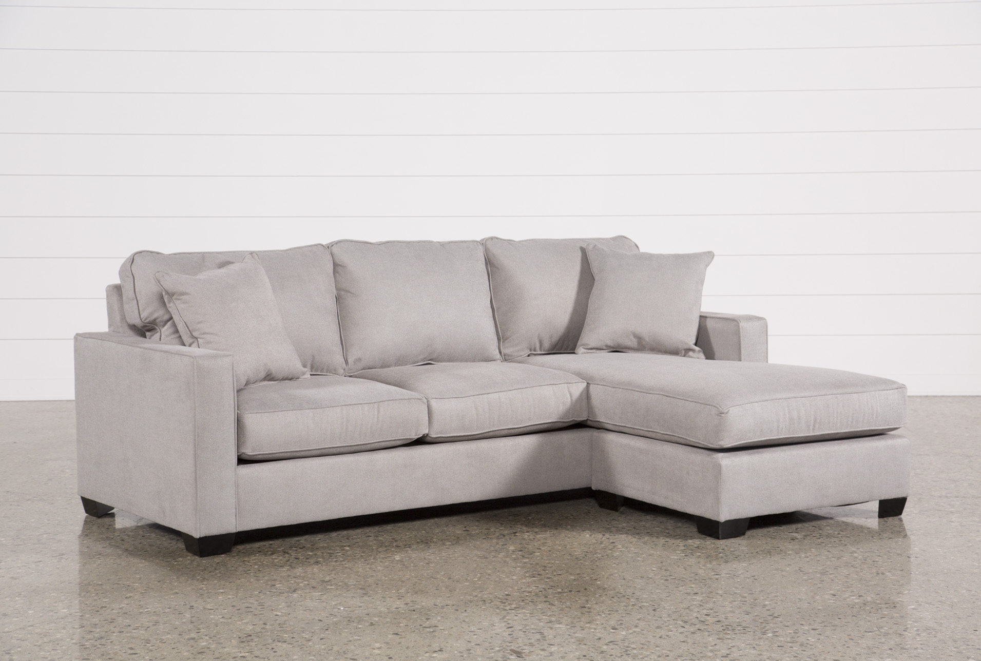 Egan II Cement Sofa W/Reversible Chaise (Qty: 1) Has Been Successfully  Added To Your Cart.