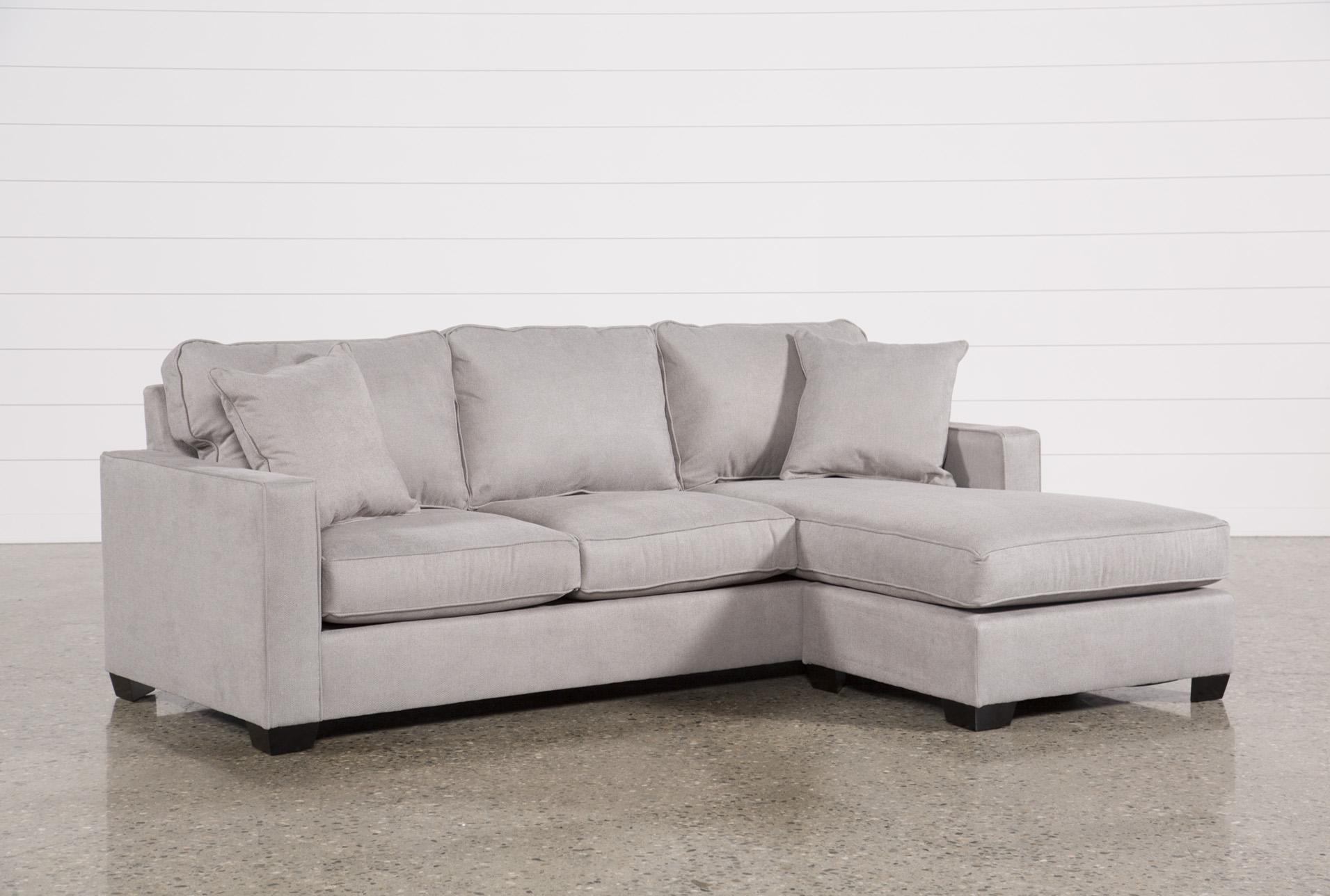 Egan II Cement Sofa W/Reversible Chaise   360