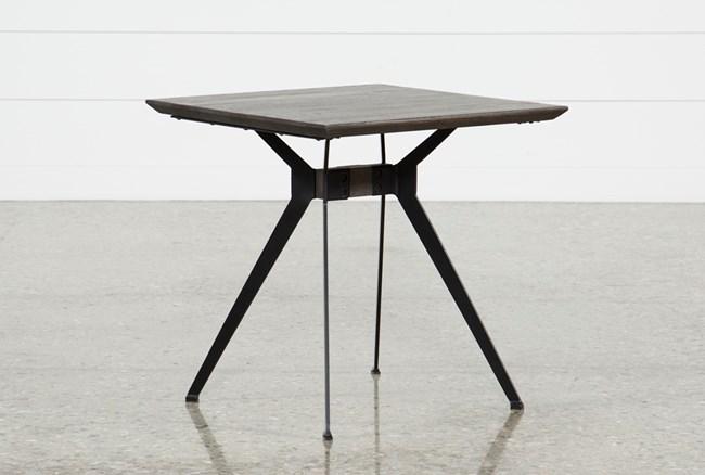 Weaver Dark End Table - 360