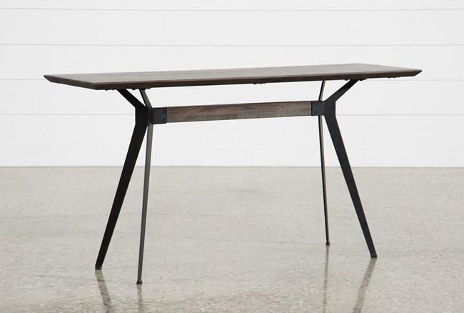 Weaver Dark Sofa Table - 360