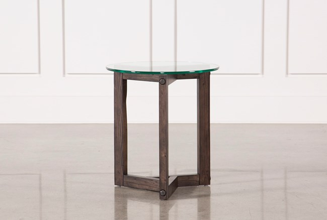 Riker Round End Table - 360