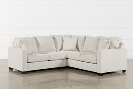 Raphael II Flax 2 Piece Sectionalw/Laf Loveseat