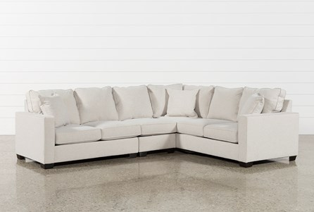 Raphael II Flax 3 Piece Sectionalw/Laf Loveseat