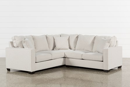Raphael II Flax 2 Piece Sectionalw/Raf Loveseat