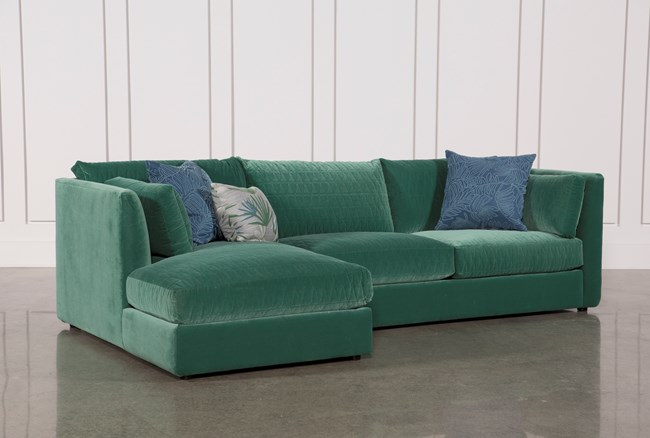 Justina Blakeney Mor 2 Piece Sectional W/Laf Chaise - 360